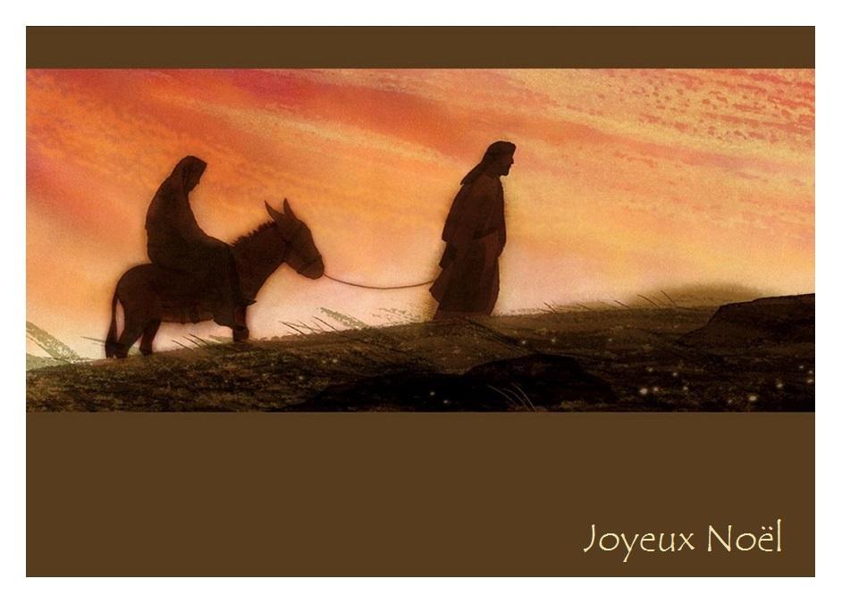 Ecole Notre Dame de Lorette – cartes noel religieuses pour